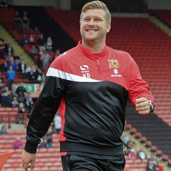 Karl Robinson (Former MK Dons Manager)